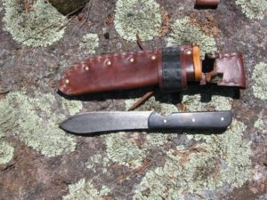 Nesmuck Style Knives and Sheaths